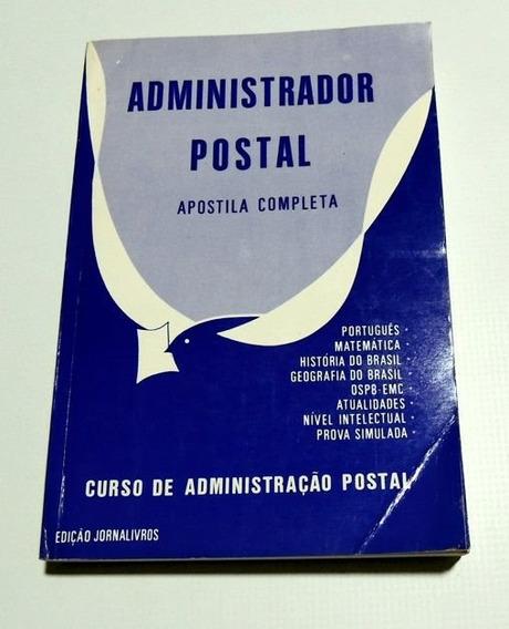 Administrador Postal Apostila Completa