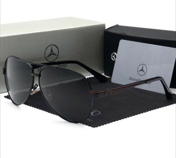 Óculos Mercedes Benz Aviador - 737 65 Black