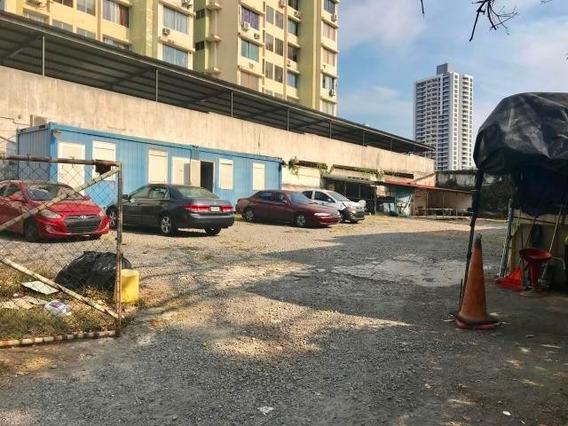 Estratégico Terreno En Alquiler En Bella Vista Panama Cv