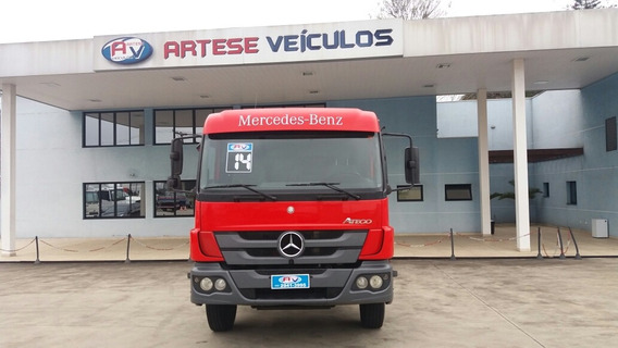Mb Atego 1719, Ano 2014/14, Chassi 7 Metros - 1419 Ano 2012