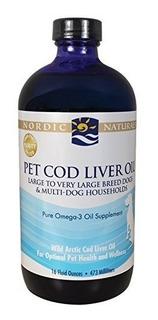 Nordic Naturals Clo Mascotas Suplemento - 3s Aceite De Hígad