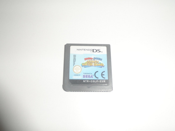 Mario E Sonic Olympic Winter - Original Nintendo Ds Europeu