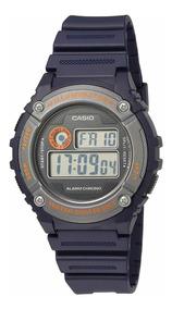 Reloj Casio Illuminator Alarma Resistente Agua Azul Crono