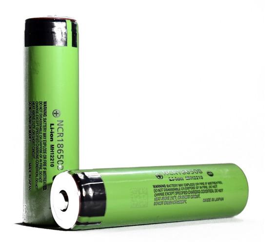 3 Baterias Panasonic Ncr18650 3400mah Pcb Protect (original)