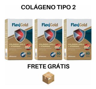 Kit Colágeno Tipo 2 - 180 Cápsulas (3 Potes) Frete Grátis