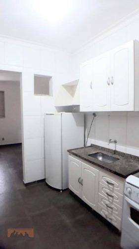 Kitnet Com 1 Dormitório Para Alugar, 23 M² Por R$ 1.000,00/mês - Cidade Universitária - Campinas/sp - Kn1071
