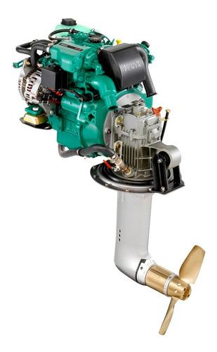 Motor Diesel Veleiro Volvo Penta D1 30hp Com Rabeta