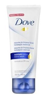 Limpiador Facial Espuma Dove Hidratación Esencial 100g