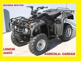Cuatrimoto Loncin 250cc Cardan