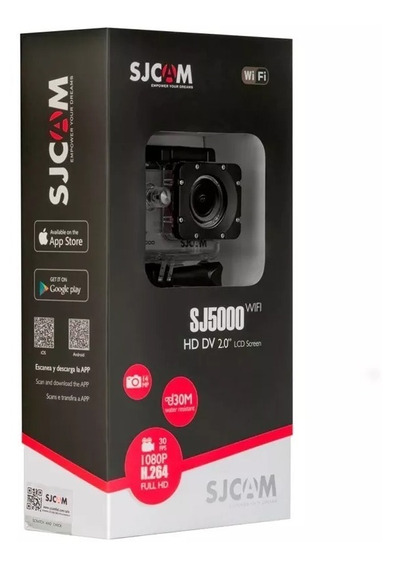 Câmera Sjcam Sj5000 Full Hd Nova Lacrada Pronta Entrega
