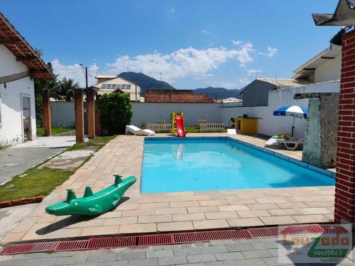 Imagem 1 de 15 de Casa Para Venda Em Peruíbe, Jardim Barra De Jangada, 3 Dormitórios, 2 Banheiros, 5 Vagas - 3324_2-1104332