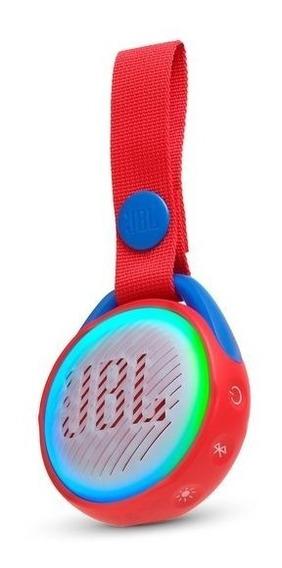 Caixa De Som Jbl Jr Pop Portátil Para Crianças Bluetooth Com Alça Para Transporte A Prova D