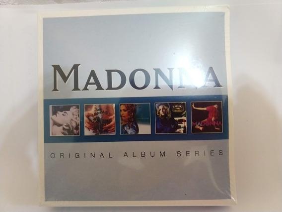 Cd Madonna - Original Album Series, Box Com 5 Cds