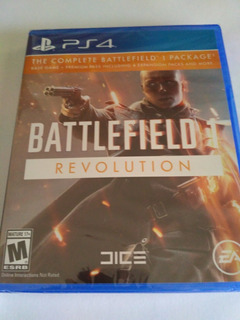 Battlefield 1 Revolution Ps4 Nuevo Sellado