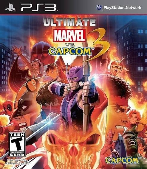 Ultimate Marvel Vs Capcom 3 Ps3 - Leia Descrição