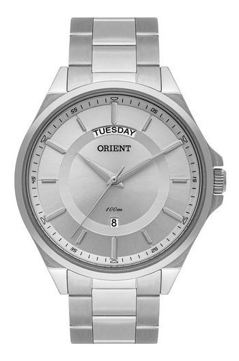 Relógio Orient Masculino Ref: Mbss2013a S1sx Social Prateado