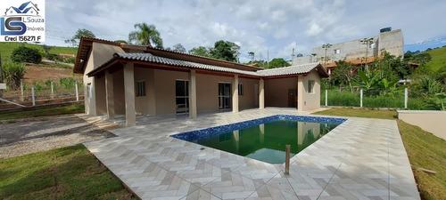 Lindíssima Chácara Nova Localizada Em Excelente Bairro De Pinhalzinho, Interior De São Paulo; - 1116 - 68742670