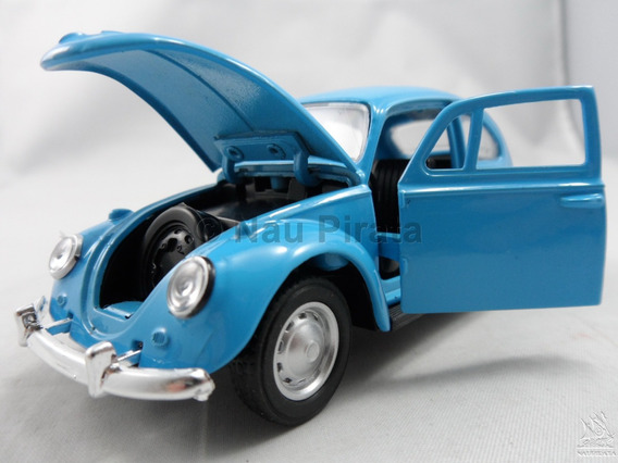 Volkswagen Fusca Clássico 1967 Abre Portas & Capô Azul