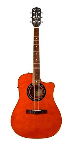 Guitarra Electroacustica Fender T Bucket 300 Ambar + Cuotas
