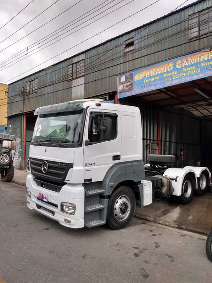 Mb Axor 2544 2010 Teto Alto Impecável Scania Volvo Iveco