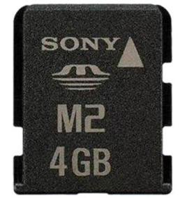 Memoria Stick Micro M2 Com Pendrive Sony 4gb Sony
