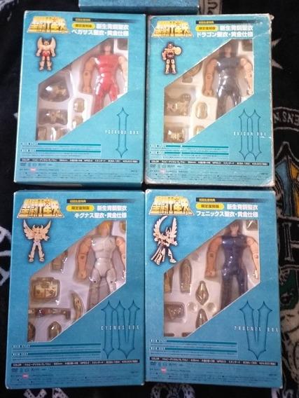 Cavaleiros Do Zodiaco Versao Original Bandai Dvd Box Raro