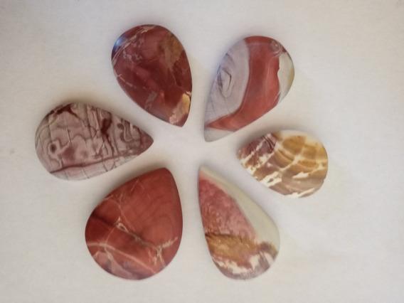 Piedras Ranuradas Peruanas Colcatacama Pack X 6u $1800