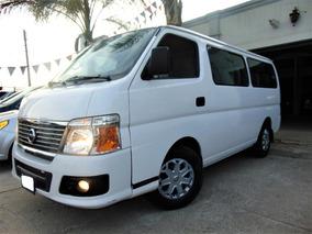 Nissan Urvan 2.5l 12 Pas Aa Pack Seguridad Mt 2012