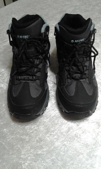 Zapatillas Botas Hi Tec 38.5 Impermeables!!!!