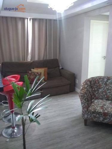 Apartamento Com 2 Dormitórios À Venda, 47 M² Por R$ 190.000,00 - Vila Tesouro - São José Dos Campos/sp - Ap9942