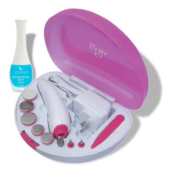 Set De Manicura Y Pedicuria 9en1 Gama Torno Nails Spa Essentials