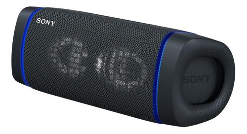 Imagen 1 de 4 de Parlante Sony Extra Bass XB33 portátil con bluetooth negra