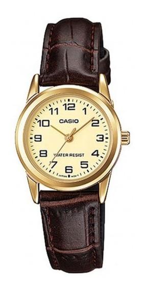 Relógio Casio Feminino Ltp-v001gl-9budf