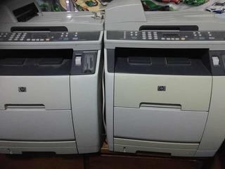 Fotocopiadora Láser Color Lote De 2 Funcionando Falta Tinta