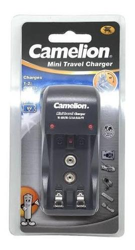 Cargador Camelion De Pilas Y Batería Recargable Aa Y Aaa 9v