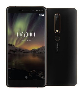 Nokia 6.1 4g Lte De 32g+3g Ram Lector De Huella Camara 16mpx