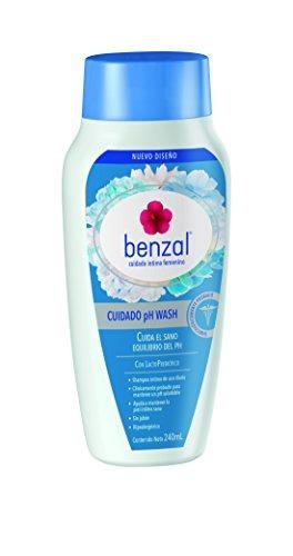 Benzal Shampoo De Uso Diario Para El Cuidado Íntimo Femenin
