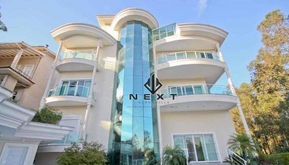 Casa Com 8 Suites Para Locação, 1300 M² No Residencial Tamboré 2 - Alphaville - Sp - Ca0446
