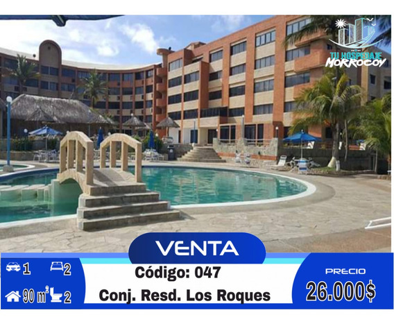 Apartamento Vacacional En Venta En Tucacas Morrocoy Inm-047