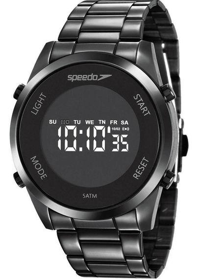 Relógio Feminino Preto Speedo 24873 Lpevpe2