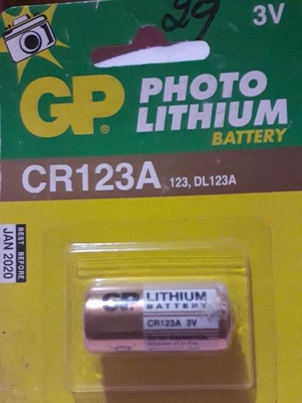 Pila De Lithium Gp Cr123a 3v