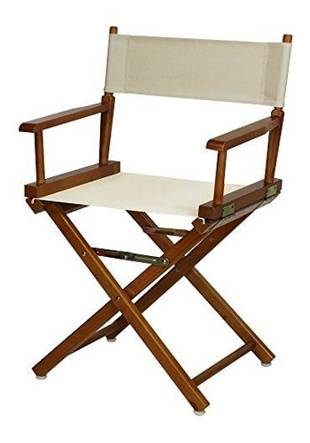 Casual Home 18 Directors Chair Honey Oak Frame Con Lienzo De