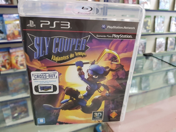 Sly Cooper Viajantes Do Tempo Usado Original Ps3 .