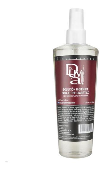Solución Higiénica Para Pie Diabético X 240g Duval