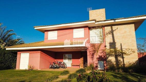Casa Com 5 Dormitórios À Venda, 281 M² Por R$ 1.400.000,00 - Condomínio Altos De Itu - Itu/sp - Ca7449
