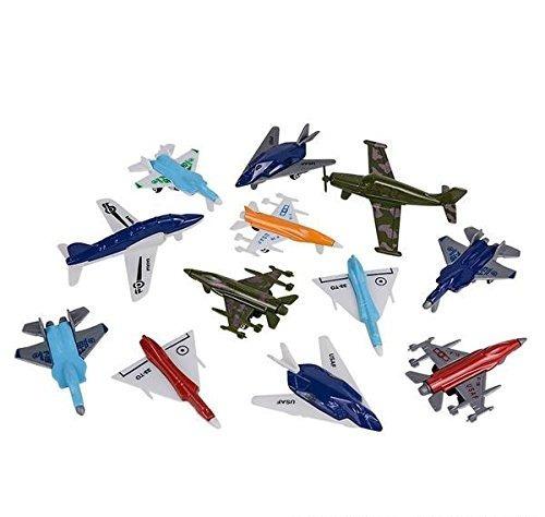 12 Pc Aircraft Set, Estuche De 24