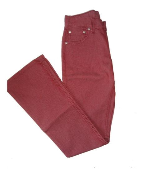 Jean Modelo 514 Levis Rojo Dama T24 E.gratis-ctas S/interes!