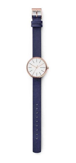 Relógio Skagen Feminino Slim Analógico Skw2592/2bn