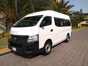 Nissan Urvan Nv350 2017 Para 19 Pasajeros