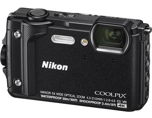 Câmera Nikon Coolpix W300 Wifi 4k Á Prova D'água 12x S/juros